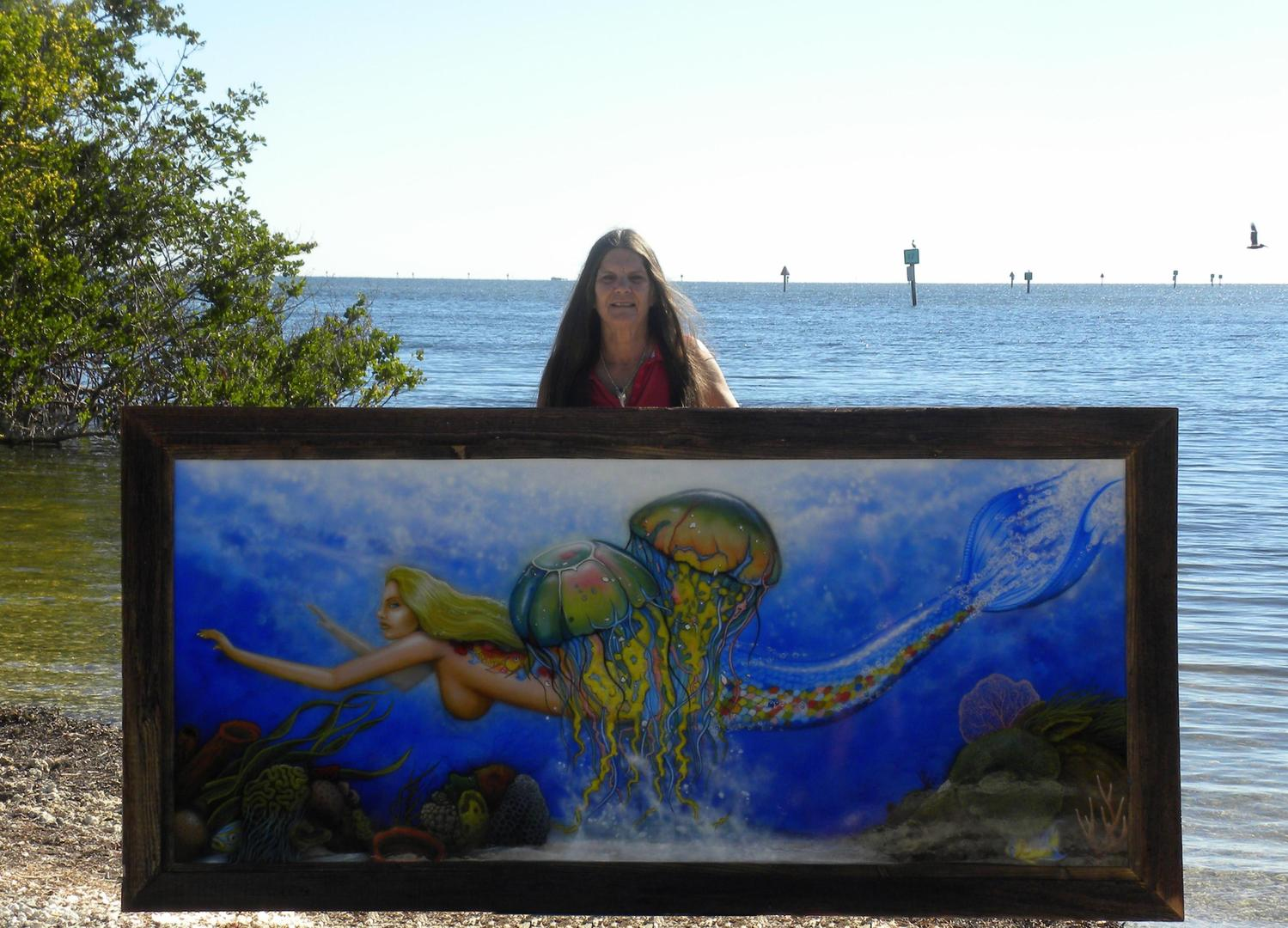 Driftwood Pictures Frames in Key Largo, Florida